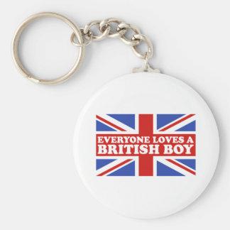 British Boy Key Chains