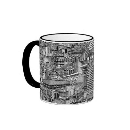 British Brutualism Ringer Mug
