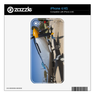 British-built Spitfire fighter Decal For iPhone 4