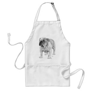 British Bulldog Adult Apron