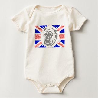 British Bulldog Baby Bodysuit