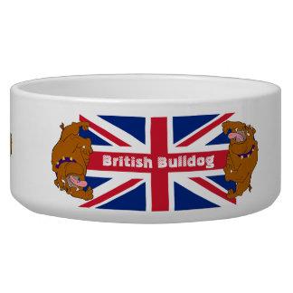 British Bulldog Pet Bowl