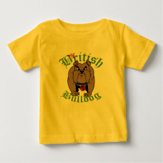 British Bulldog Pit Trainee Baby T-Shirt