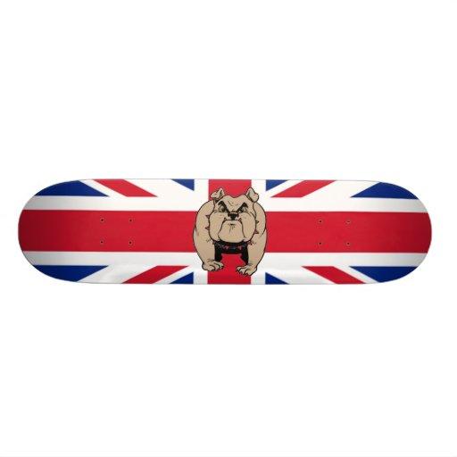 British Bulldog skateboard