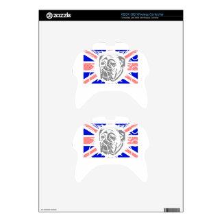 British Bulldog Xbox 360 Controller Skins