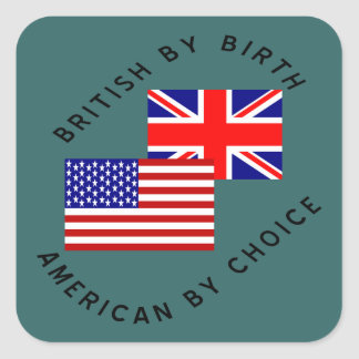 American by birth stickers zazzle for American choice