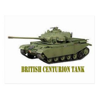 BRITISH CENTURION TANK POSTCARD