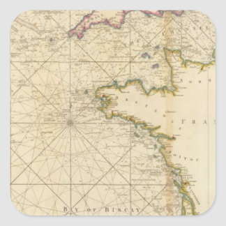 British Channel, Bay of Biscay Stickers