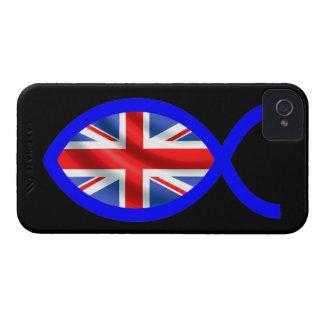 British Christian Fish Symbol Flag Blackberry Bold Covers