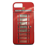 British City of London Red Phone Booth iPhone 8 iPhone 8/7 Case