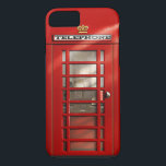 "British City of London Red Phone Booth iPhone 8 iPhone 8/7 Case<br><div class=""desc"">Encase your smart phone in fun eye-catching original artwork! My digitally painted red telephone box design will connect you straight to the City of London in an instant. Whether you are a Brit abroad or a tourist on a visit, you&#39;ll remember Great Britain no matter where you are in the...</div>"