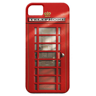 British City of London Red Phone Booth iPhone SE iPhone SE/5/5s Case