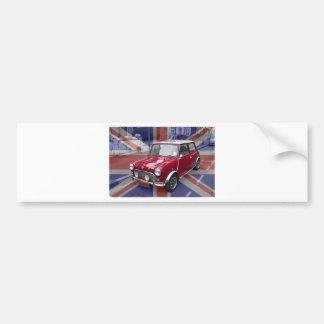 British Classic Mini car Bumper Stickers
