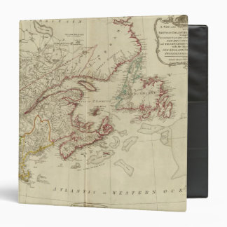 British colonies North America, New England Binder