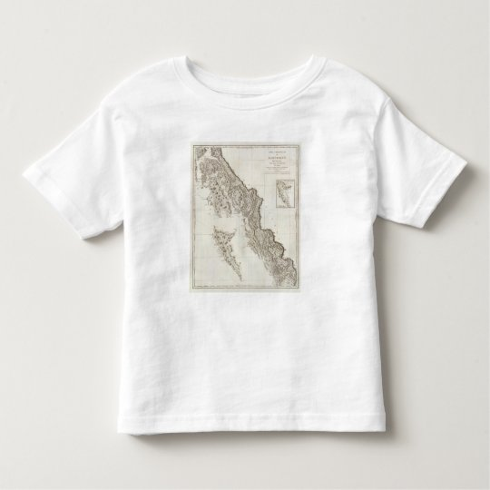 British Columbia Alaska Toddler T-shirt
