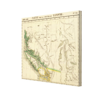 British Columbia, Alberta 31 Canvas Print