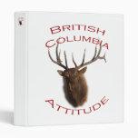 British Columbia Attitude 3 Ring Binders