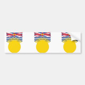 British Columbia, Canada Bumper Sticker