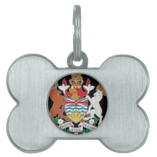 British Columbia (Canada) Coat of Arms Pet ID Tags