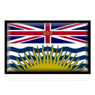 British Columbia (Canada) Flag Post Card