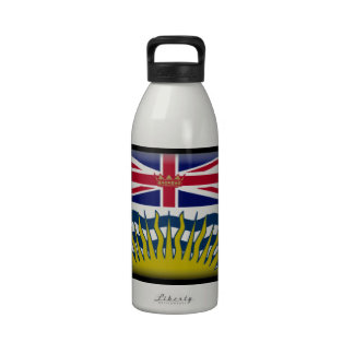 British Columbia (Canada) Flag Water Bottle