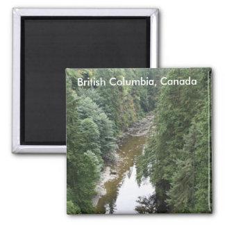 British Columbia, Canada Magnet