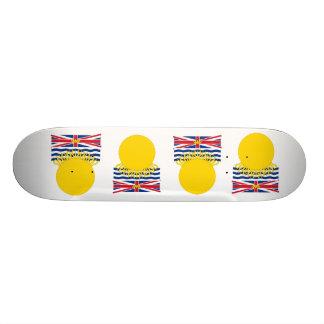 British Columbia, Canada Skate Deck