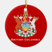 British Columbia* Christmas Ornament