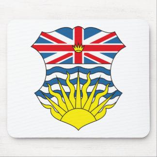 British Columbia Coat of Arms (alternate) Mousepad