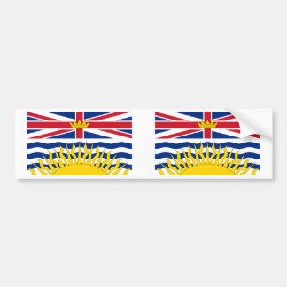 British Columbia Flag Bumper Stickers