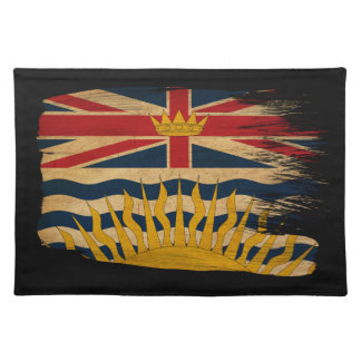 British Columbia Flag Cloth Placemat