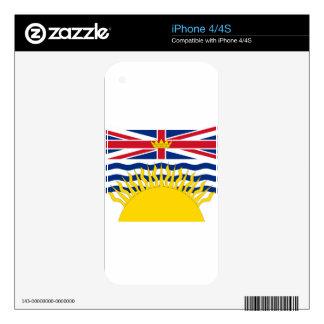 British Columbia Flag iPhone 4 Skins