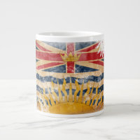 British Columbia Flag Large Coffee Mug