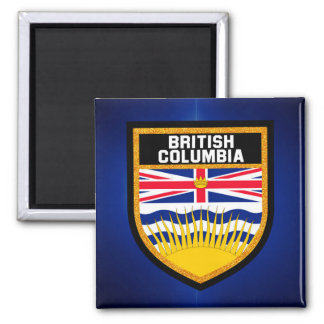 British Columbia Flag Magnet