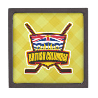 British Columbia Hockey Flag Gift Box