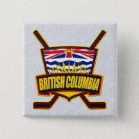 British Columbia Hockey Flag Pin