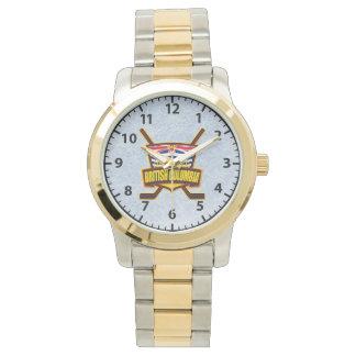 British Columbia Hockey Logo Wrist Watch