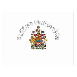 British Columbia Post Card