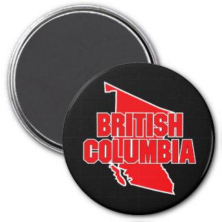 British Columbia Province 3 Inch Round Magnet