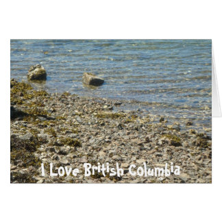 British Columbia Rocks Card