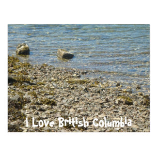 British Columbia Rocks Postcard