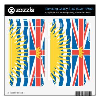 BRITISH COLUMBIA SAMSUNG GALAXY S 4G SKIN