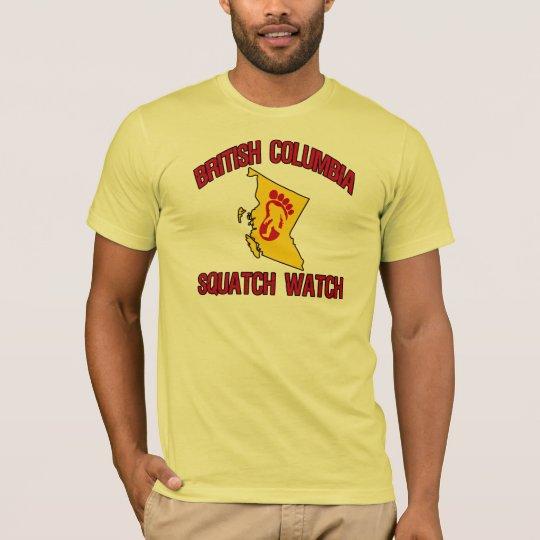British Columbia Squatch Watch T-Shirt