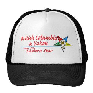 British Columbia & Yukon Eastern Star Trucker Hat