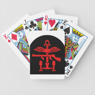 British Commando Insignia - WWII - World War Two Bicycle Playing Cards