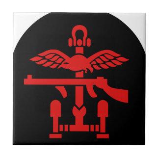 British Commando Insignia - WWII - World War Two Tile