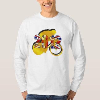 British Cycling Champions Yellow Jersey 2012 Gold T-shirt
