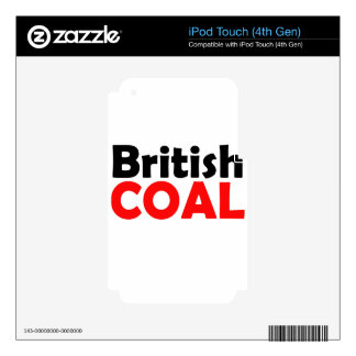 british decals for iPod touch 4G
