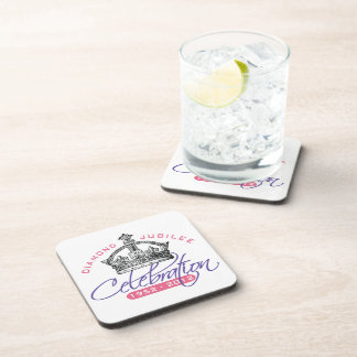 British Diamond Jubilee - Royal Souvenir Beverage Coaster