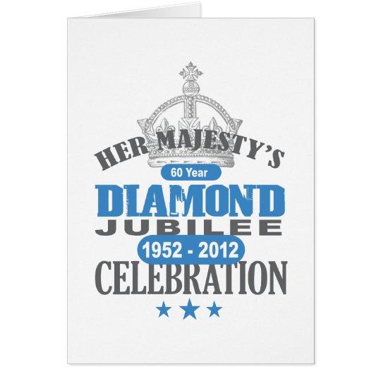 British Diamond Jubilee - Royal Souvenir Card
